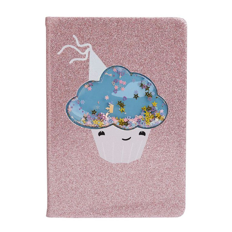 Kookie Bright Notebook Novelty Pink A5, , hi-res