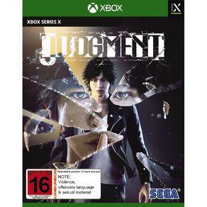 Xbox Series X Judgment