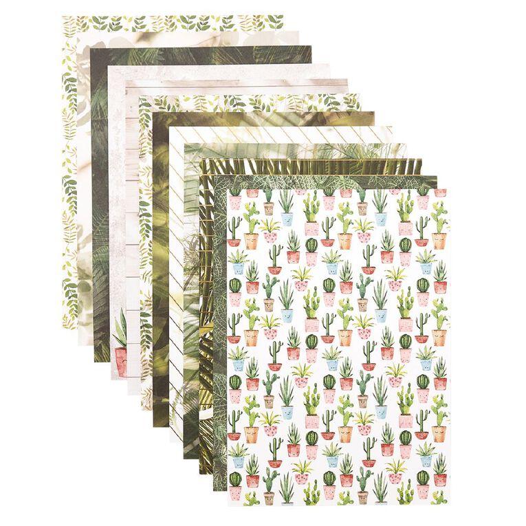 Uniti Plant Lady Paper Pad A4 12 Sheets, , hi-res