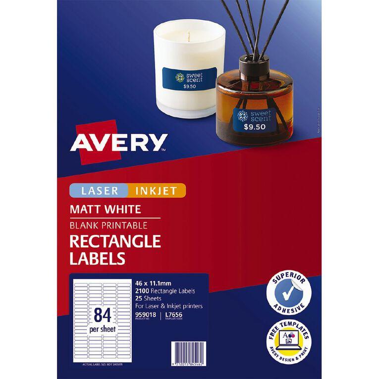 Avery Laser Labels L7656-25 Pack 25, , hi-res