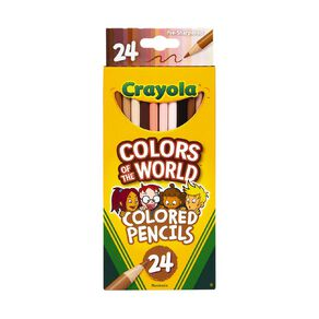 Crayola Colors of the World Pencils 24 Pack