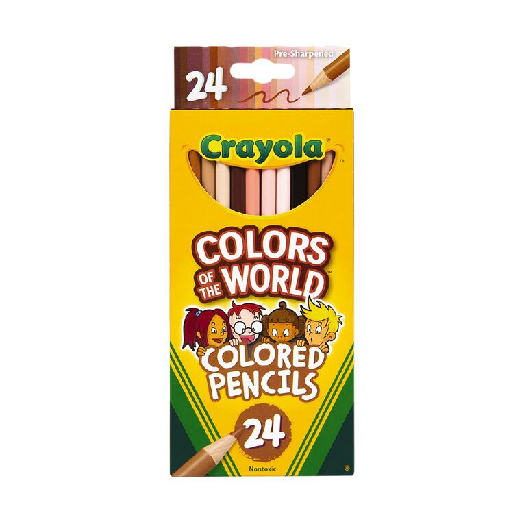 Crayola Colors of the World Pencils 24 Pack, , hi-res