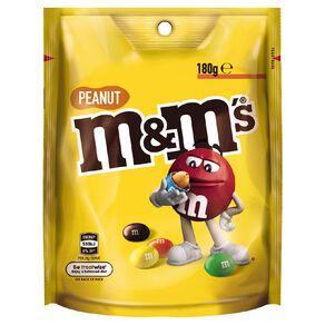 M&M's Peanut Chocolate Bag 180g