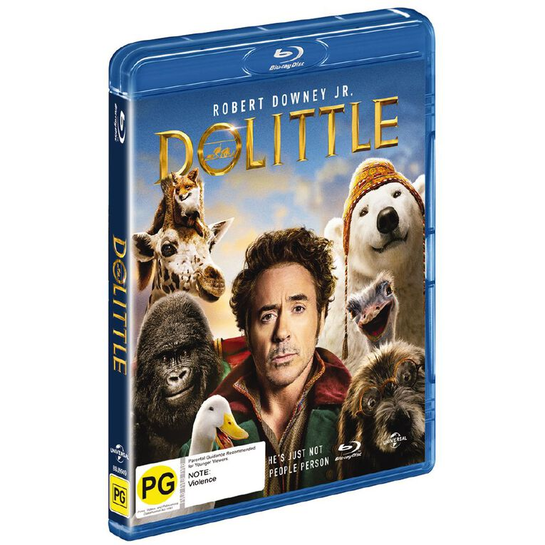 The Voyage Of Dr. Dolittle Blu-ray 1Disc, , hi-res