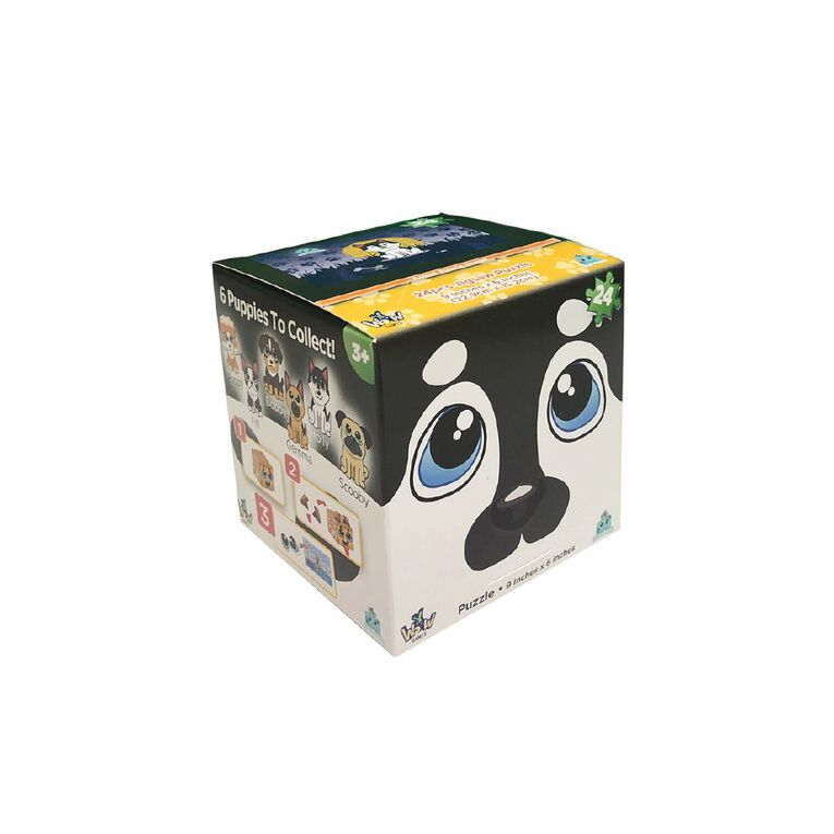 Puzzleheads Puppies 24 Piece Puzzles Assorted, , hi-res