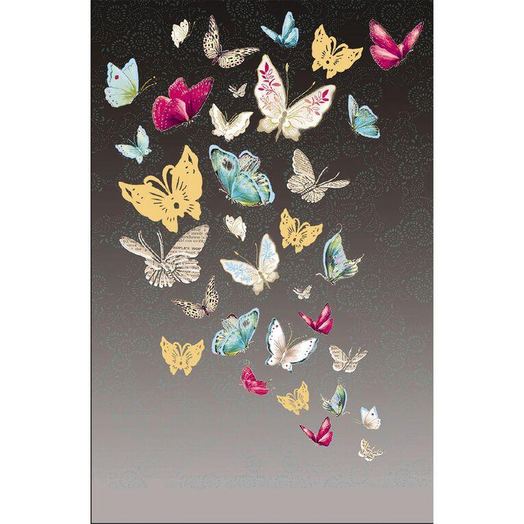 John Sands Open Friendship Card Open Blank All Over Butterflies, , hi-res