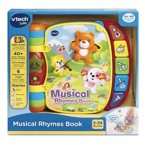 Vtech Musical Rhymes Book Exclusive