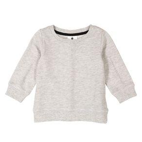 Young Original Plain Patch Sweatshirt