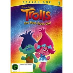 Trolls The Beat Goes On DVD 2Disc