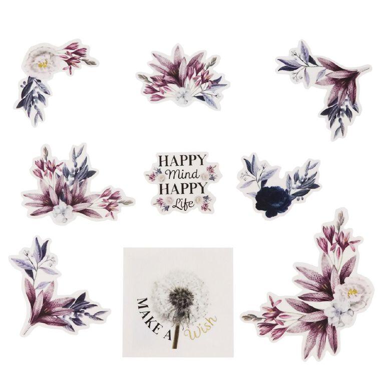 Uniti Morning Blossom Vellum Die Cut Shapes 18 Pieces, , hi-res
