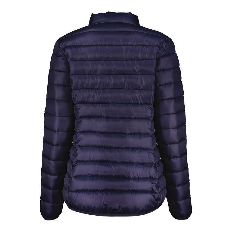 H&H Puffer Jacket, Blue Dark, hi-res