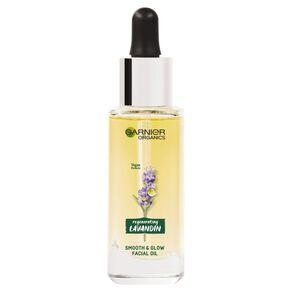 Garnier Organics Lavandin Smooth & Glow Facial Oil 30ml
