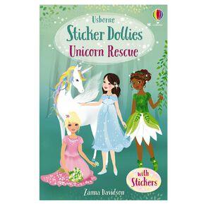 Sticker Dolly Stories #1 Unicorn Rescue by Zanna Davidson