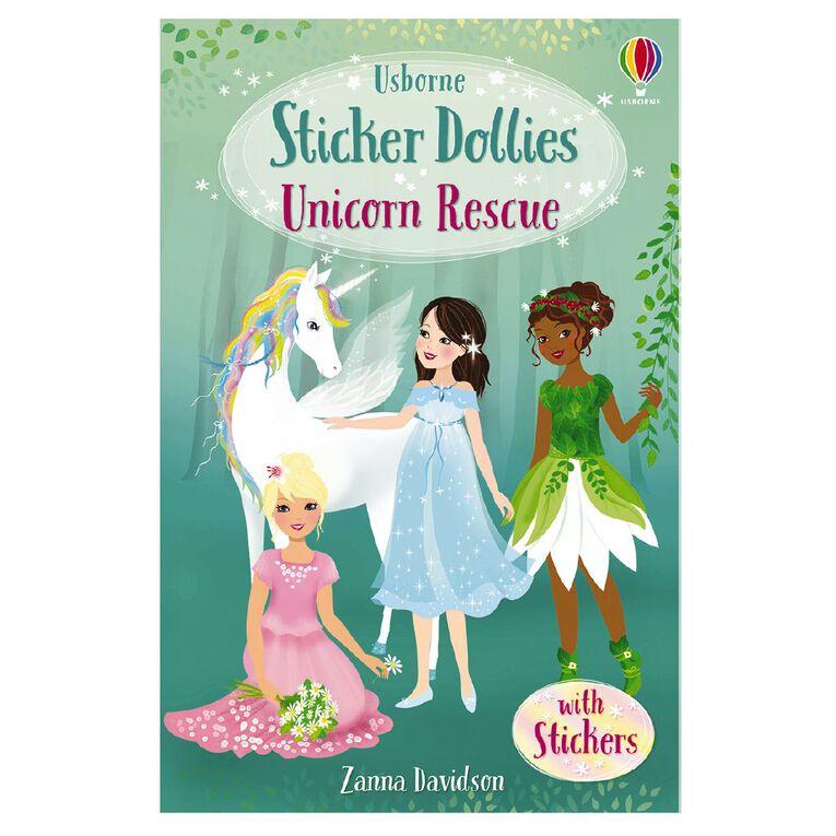 Sticker Dolly Stories #1 Unicorn Rescue by Zanna Davidson, , hi-res