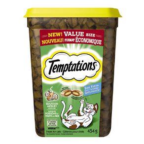 Temptations Cat Treats Seafood Medley 454g Tub