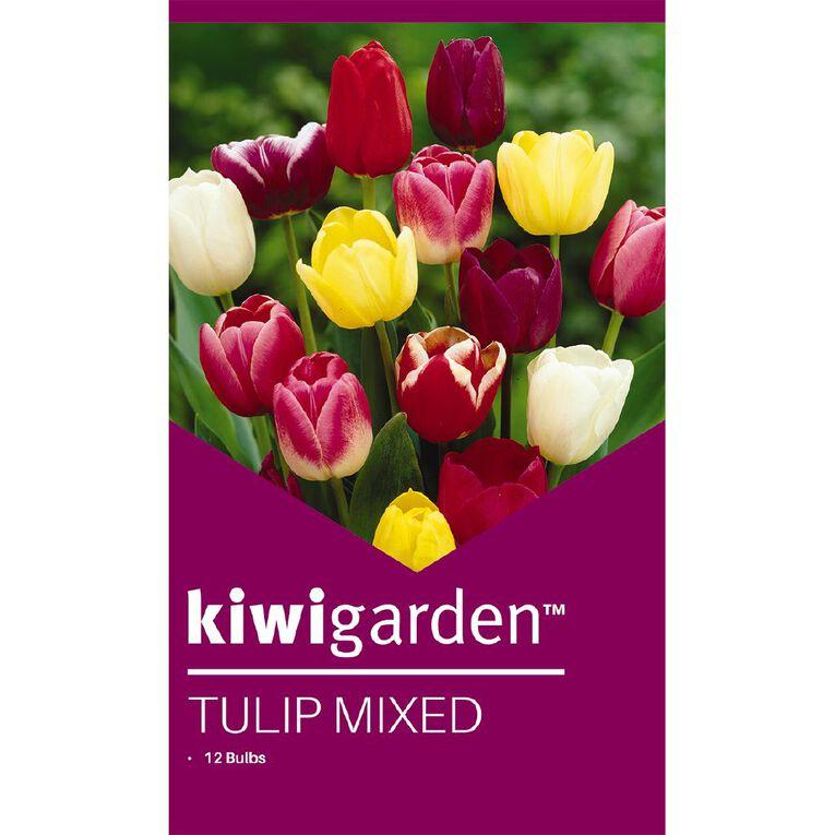 Kiwi Garden Tulip Mixed 12PK, , hi-res