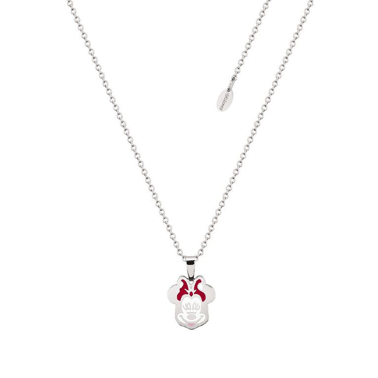 Disney Minnie Mouse Necklace, , hi-res