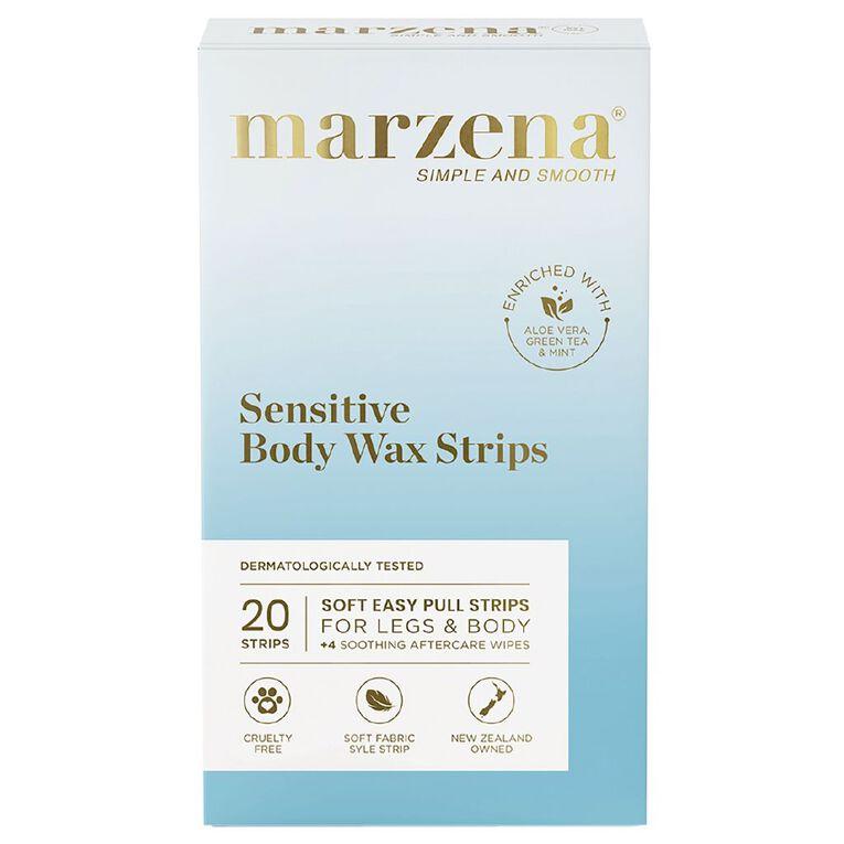 Marzena Sensitive Body Wax Strips 20 Pack, , hi-res