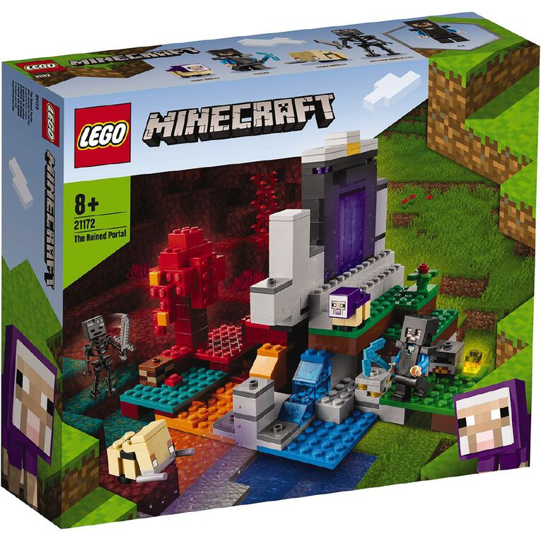 LEGO Minecraft The Ruined Portal 21172, , hi-res