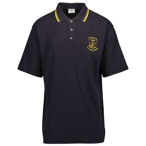 Schooltex Clendon Park Short Sleeve Polo with Embroidery