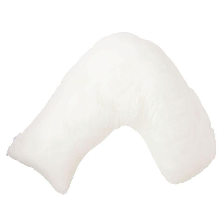 Living & Co Pillow 3 Corner White One Size, White, hi-res