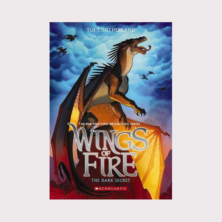 Wings of Fire #4 Dark Secret by Tui T Sutherland, , hi-res