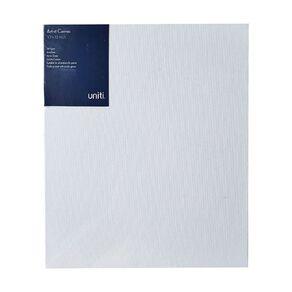 Uniti Blank Canvas 280gsm (10in x 12in) 25cm x 30cm