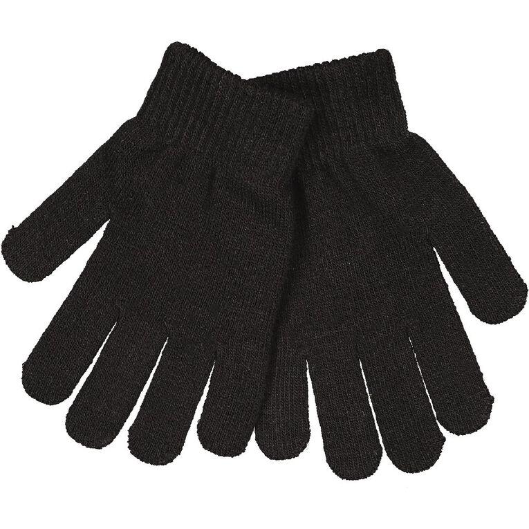 H&H Essentials Kids' Entry Gloves FF, Black, hi-res