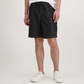 H&H Men's Cargo Board Shorts