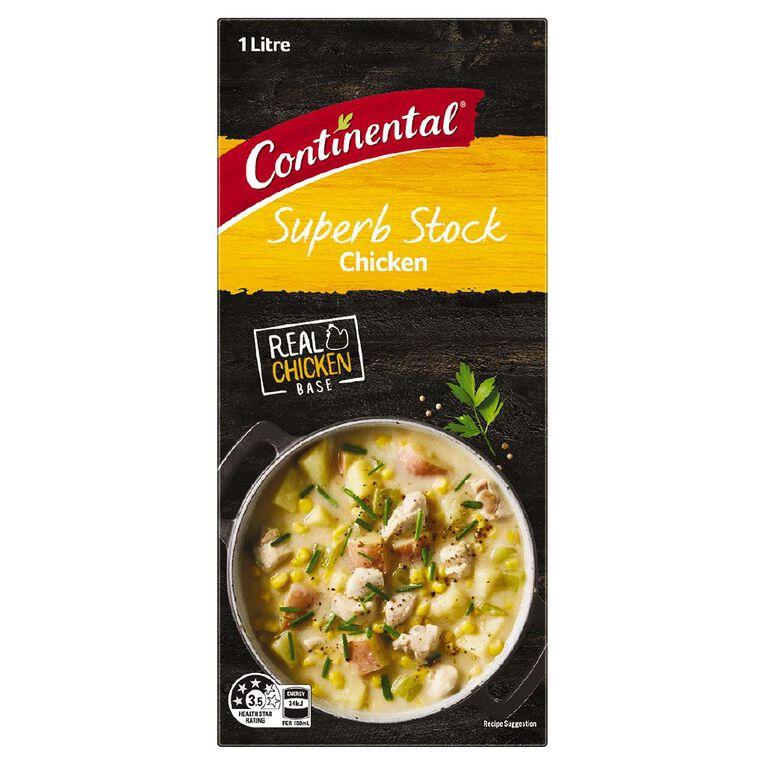 Continental Chicken Stock Liquid 1L, , hi-res