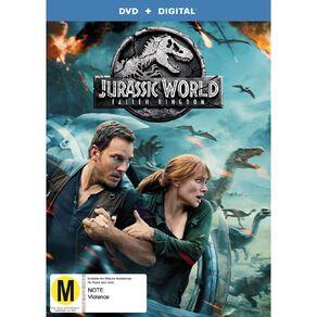 Jurassic World Fallen Kingdom DVD 1Disc