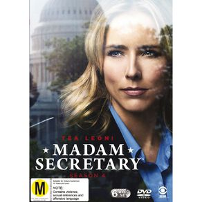 Madam Secretary Season 4 DVD 3Disc