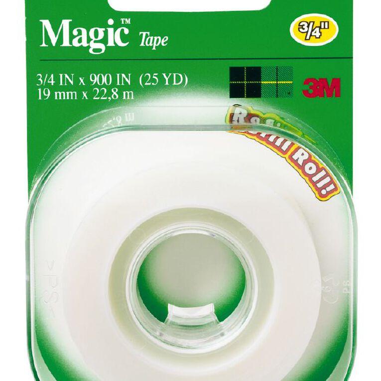 Scotch Magic Tape Refill Roll 19mm x 22.8m Clear, , hi-res