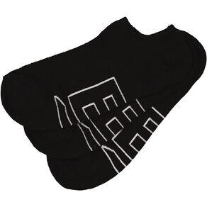 B FOR BONDS Women's Mesh No Show Socks 3 Pack