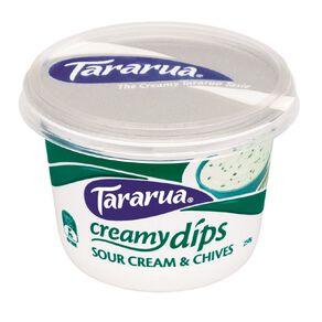 Tararua Sour Cream and Chives 250g