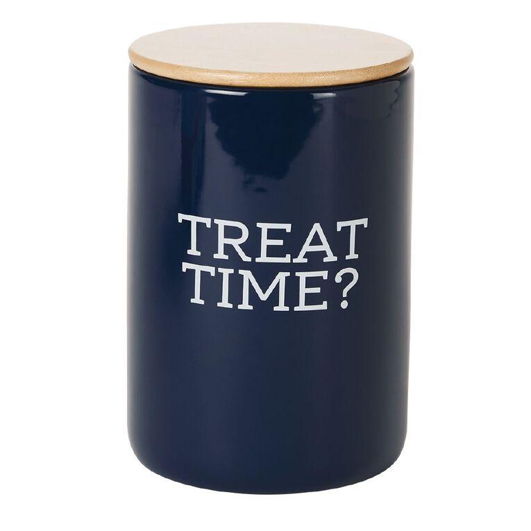 Petzone Treat Jar Treat Time, , hi-res