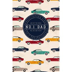 John Sands Father's Day Cards Dad Car Pattern