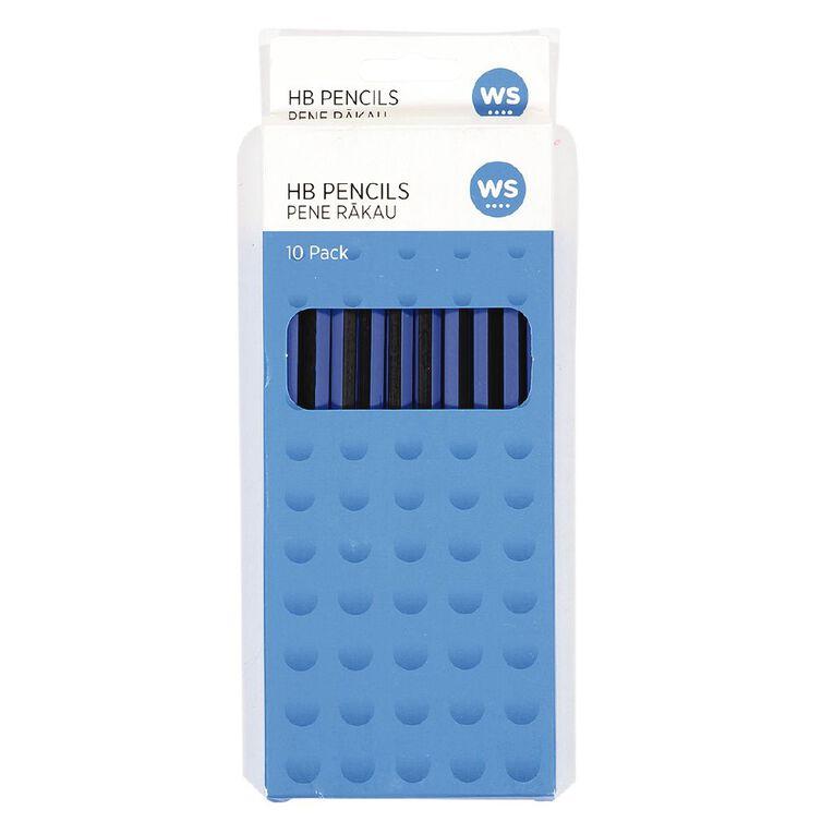 WS Pencil HB End Cap 10 Pack, , hi-res
