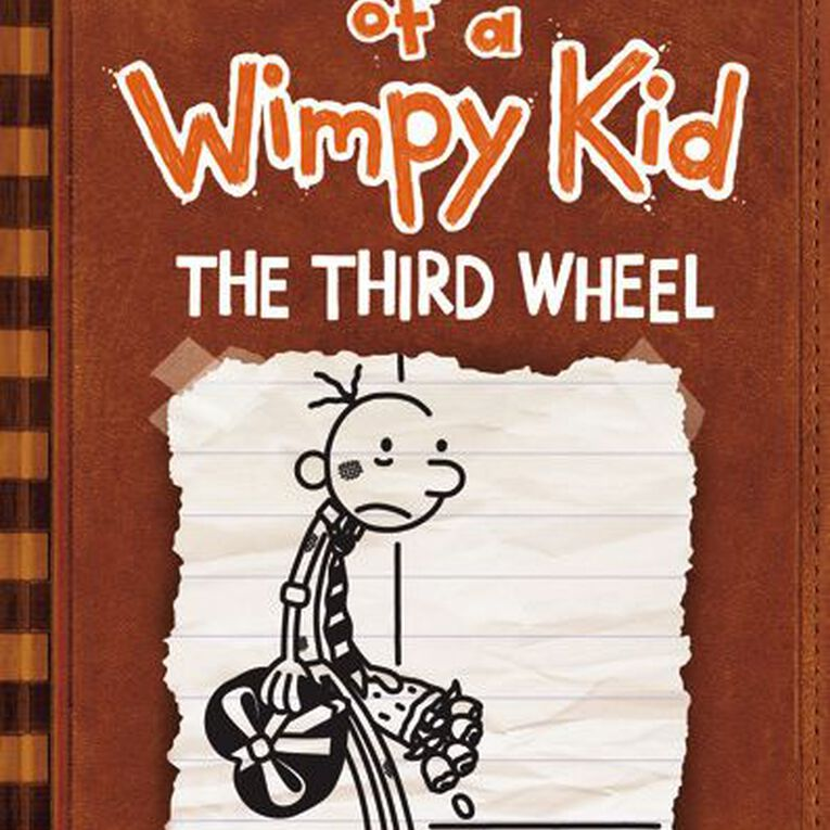 Diary of a Wimpy Kid #7 Third Wheel by Jeff Kinney, , hi-res