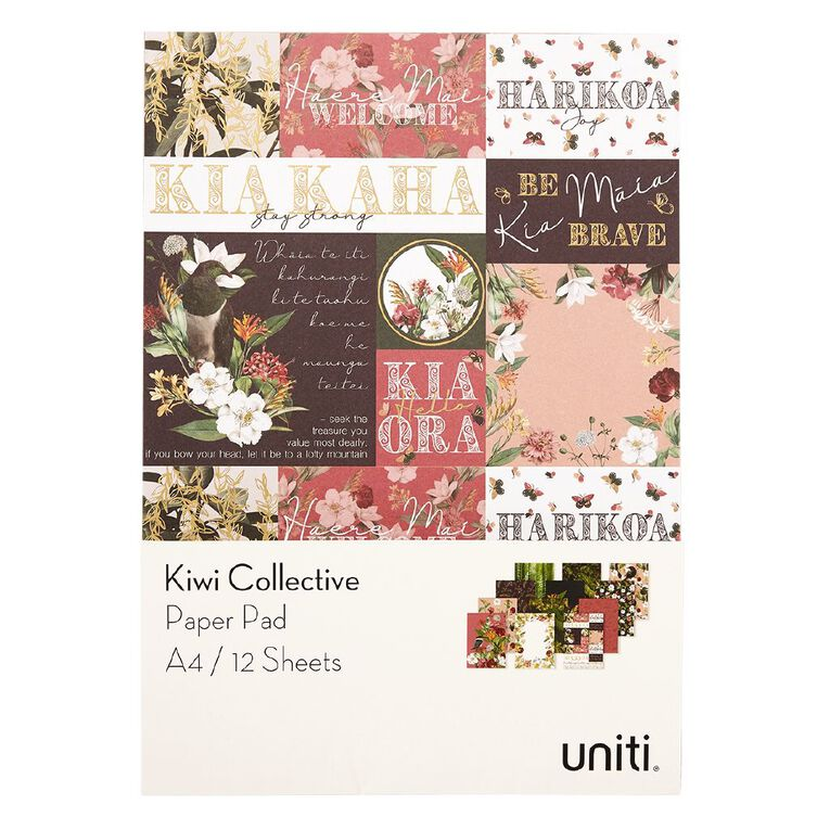 Uniti Kiwi Collective Paper Pad A4, , hi-res image number null
