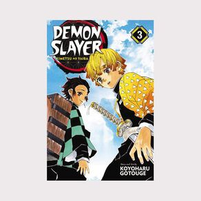 Demon Slayer: Kimetsu No Yaiba Vol #3 by Koyoharu Gotouge