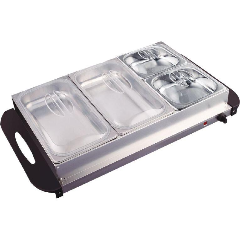 Living & Co Buffet Food Warmer, , hi-res