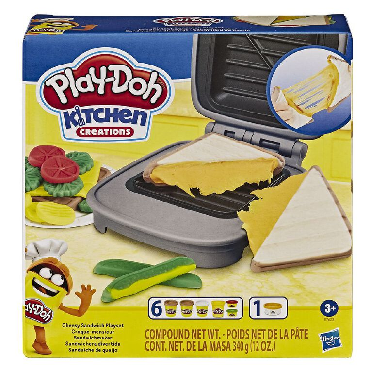 Play-Doh Cheesy Sandwich, , hi-res image number null
