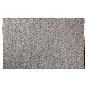 Living & Co Wool Pile Pebble Oversize Area Rug Dark Grey 200cm x 300cm