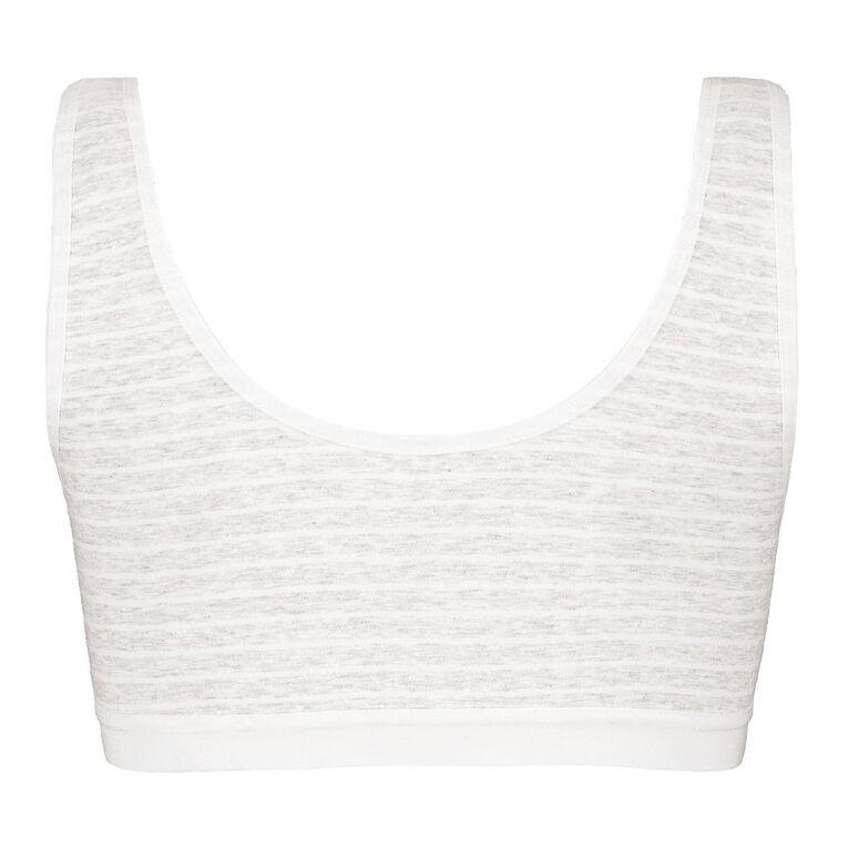 H&H Women's Crop Top, Grey, hi-res