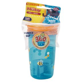 Nuby 360 Cup 300ml Assorted