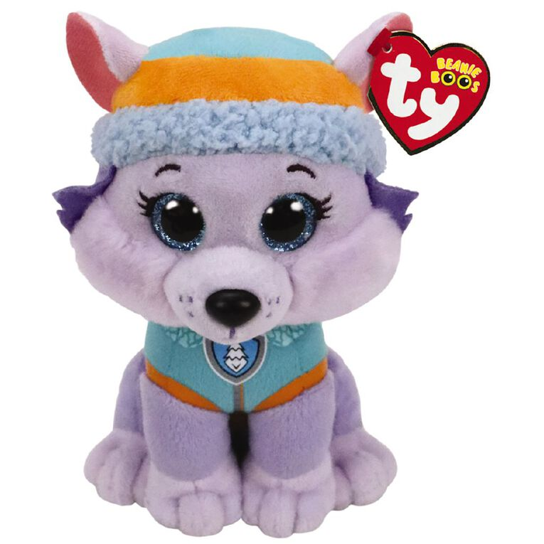 Paw Patrol TY Beanie Everest 15cm Plush, , hi-res image number null