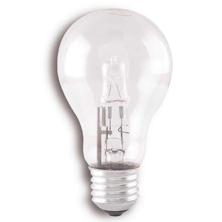 Edapt Halogen Classic Bulb E27 Clear 52w Warm White, , hi-res image number null