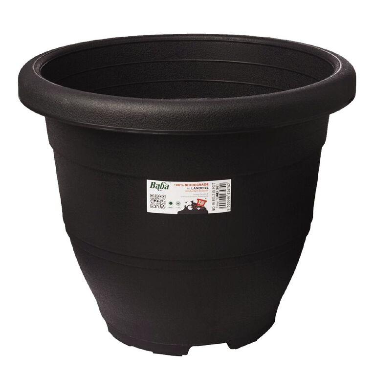Baba Plastic Round Pot 392 Zen Grey 39cm, , hi-res
