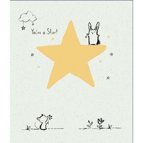 John Sands Blank Card Open Cute Character on Foil Star